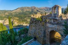 Castle Gate Of Assos Village C...