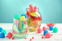 Glassware With Different Chewy...