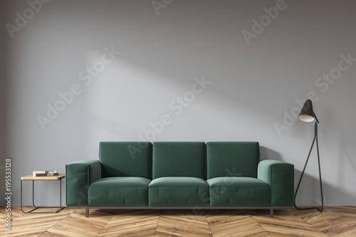 Gray Living Room Dark Green Sofa Buy This Stock Illustration And
