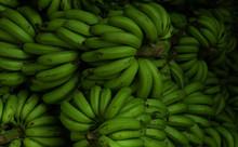 Green Plantain Banana Market Shop