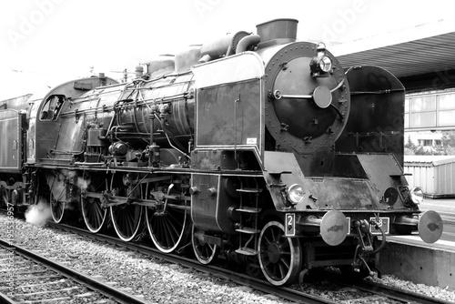 A Pacific 231 K 8 steam locomotive in Gare de Lyon, Paris