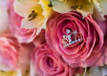 Flower Bouquet And Quinceanera...