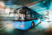 New Energy Electric Bus Arrang...
