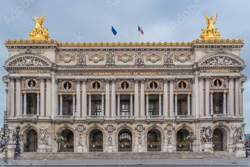 Wall Murals Artistic monument Paris, Opera, beautiful monument of the french capital