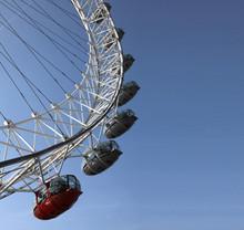 Fragment Of  London Eye Agains...