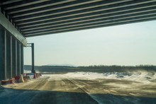 Moving Along A Highway Under A...