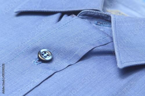 camisa planchada y doblada en la tintoreria Canvas Print