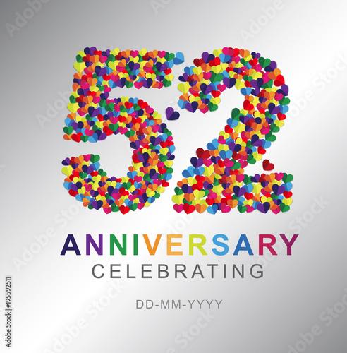 Poster  52 years anniversary celebration