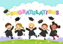Happy Graduation Day. Vector I...