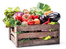 Fresh Multi-colored Vegetables...