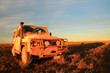 In Australian outback