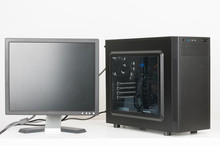 Midi Tower Computer Case  With...