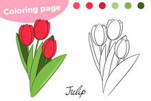 Coloring Page For Children. Sp...