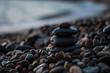 Stones on the sea