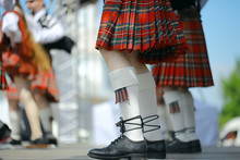 Feet In Scottish Skirts, The S...