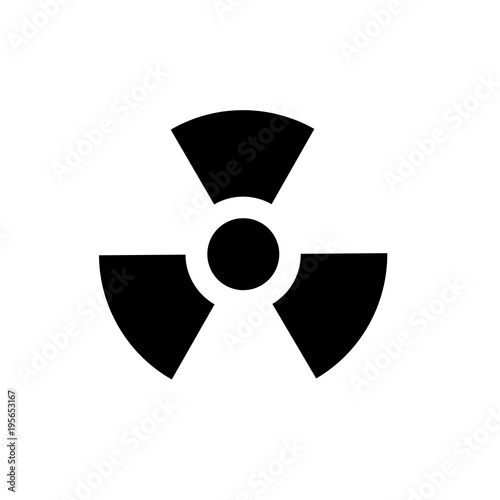 nuclear sign Fototapeta