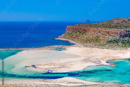 Fotobehang Canarische Eilanden Beautiful summer landscape of the southern coast of the Crete