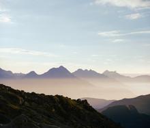 Idyllic Mountain Range Scenery...