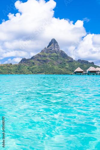 Spoed Foto op Canvas Turkoois Bora Bora Island, French Polynesia.