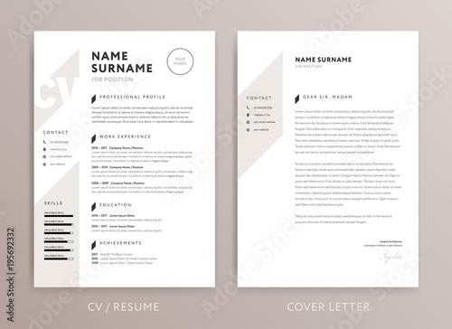 Stylish CV Design