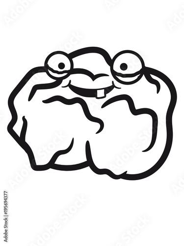 Gesicht Comic Cartoon Clipart Lustig 1 Nugget Chicken Hhnchen Huhn