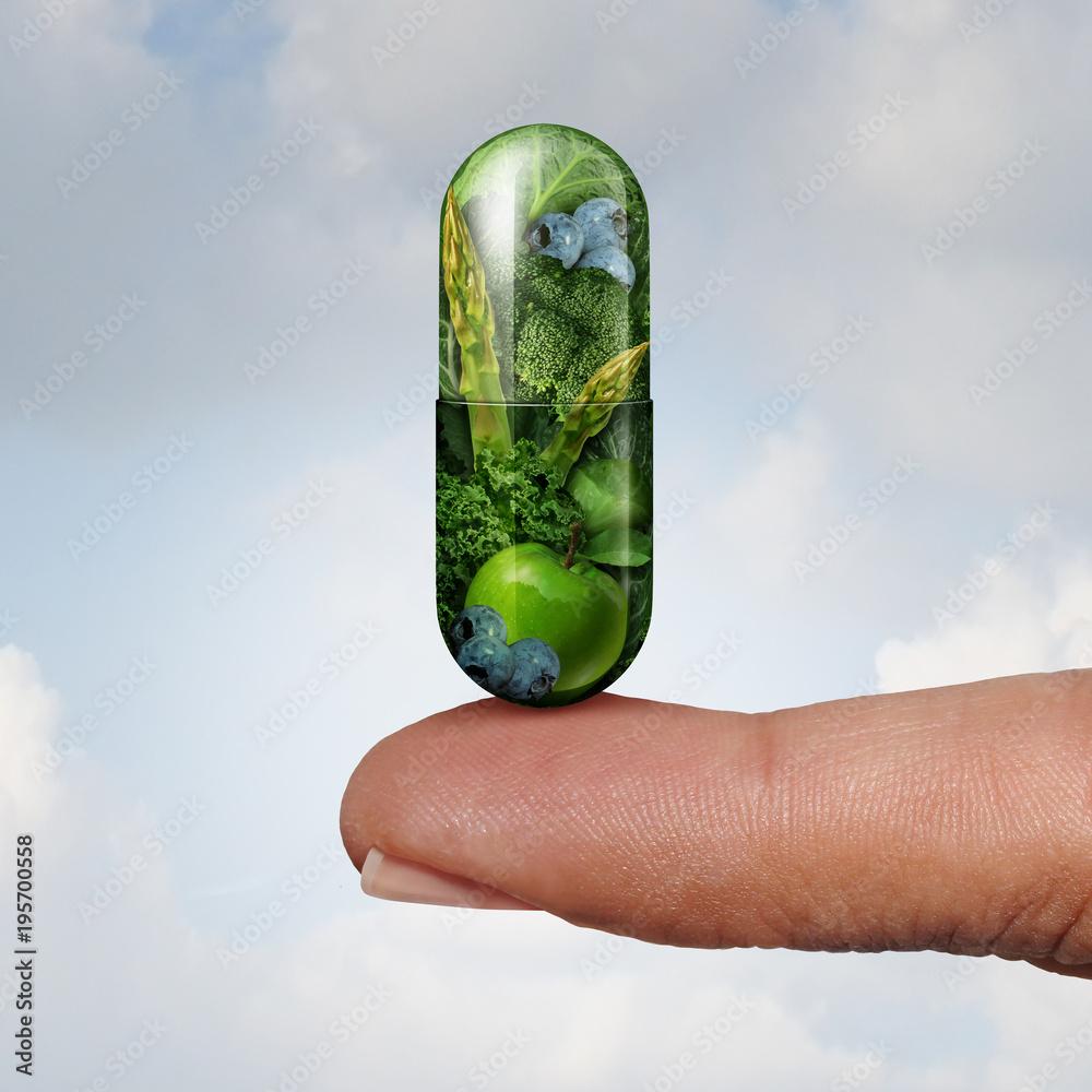 Fototapety, obrazy: Health Vitamin