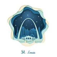 Paper Art Of St. Louis. Origam...