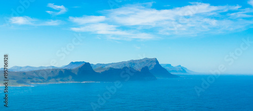 Staande foto Oceanië sea view from cape of good hope light house, cape town, south africa