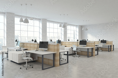 Modern coworking office