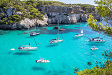 Boats And Yachts On Macarella ...