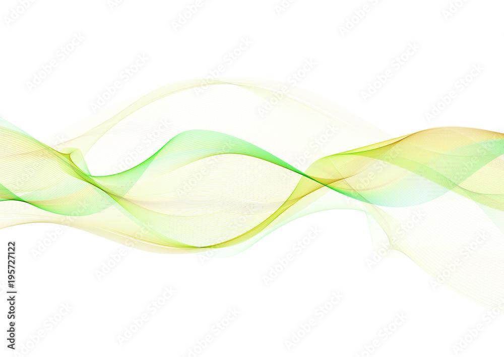 Fototapeta Abstract flowing lines