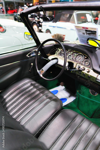 Photo Passenger compartment Retro car Pontiac Thenderbird