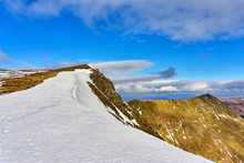 A View Of Striding Edge In The...