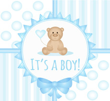 Newborn Baby Arrival Card- It'...