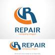 Letter R Logo Template Design Vector, Emblem, Design Concept, Creative Symbol, Icon