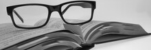 Book With Glasses, Study Panor...