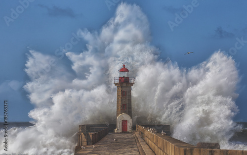 Fototapeta Big Storm is Coming obraz na płótnie