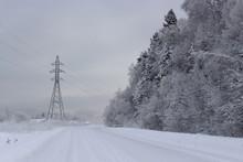 Dismal Winter Landscape Heavy ...
