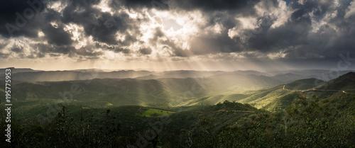 Serra do caldeirão Canvas Print