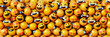 canvas print picture - Infinite emoticons 3d rendering background, social media and communications concept