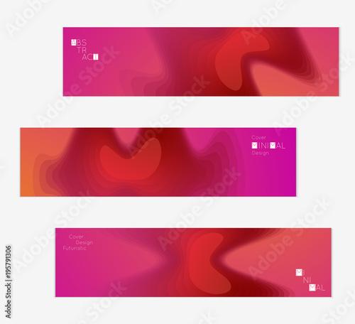 Template with Fluid gradient shape with transparent blend Canvas Print
