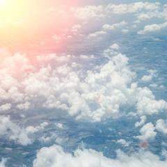 FototapetaBeautiful blue sky