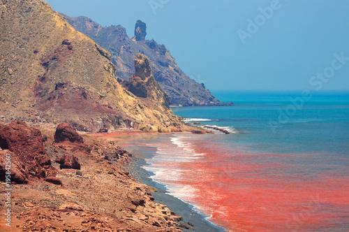 Photo  Iran. island of Hormuz