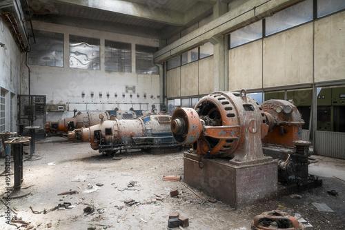 Keuken foto achterwand Oude verlaten gebouwen Abandoned Factory
