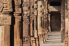 Carved Stone Columns In 12th C...