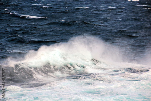 Poster Mer / Ocean Штормовая погода и волны в Тихом Океане