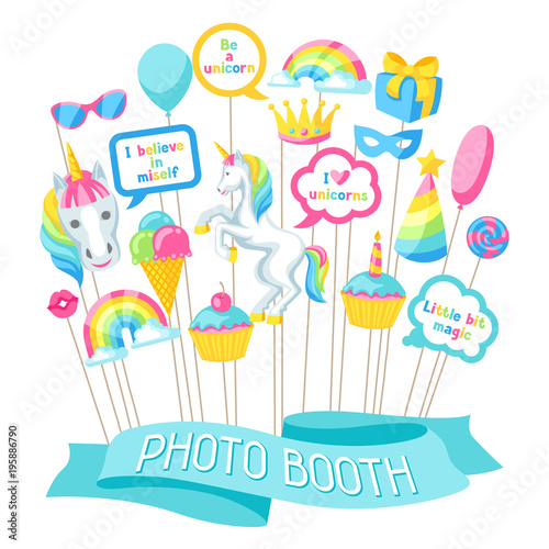 Happy Birthday Photo Booth Props Fantasy Items And Objects For
