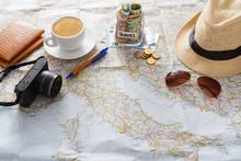 Travel Planning Concept. Touri...