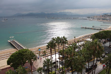Panoramic View Of Cannes Boule...