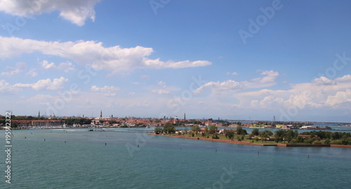 In de dag Donkerblauw Canaux de Venise